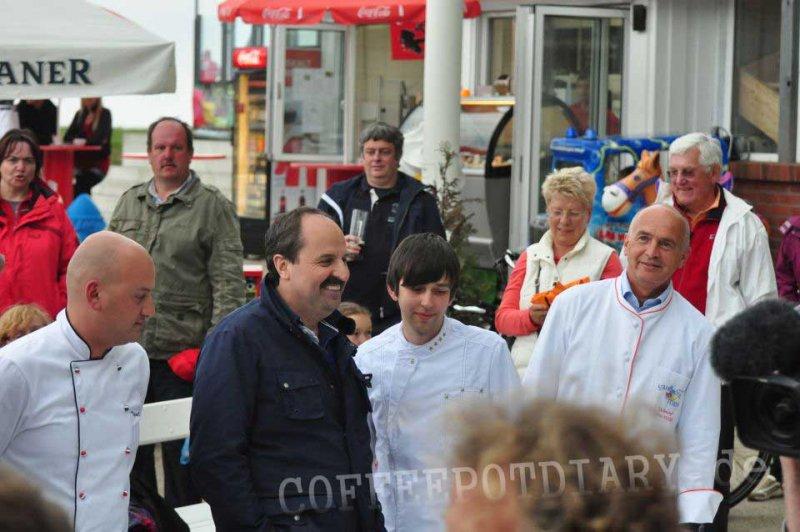 Johann Lafer in Koserow auf Usedom für MDR