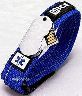 utag ice notfall armband