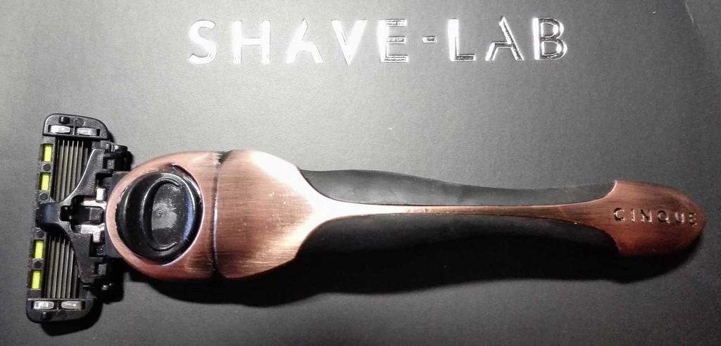 shave lab rasierer cinque