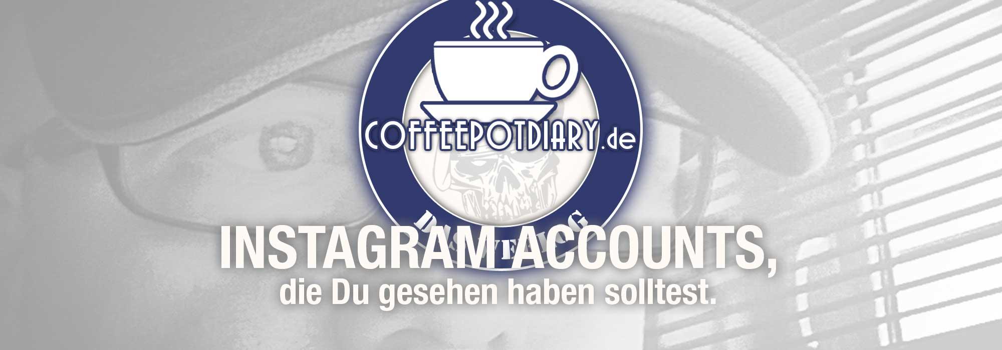 Coffeepotdiary, Jens Scheider, Instagram, Account, Review