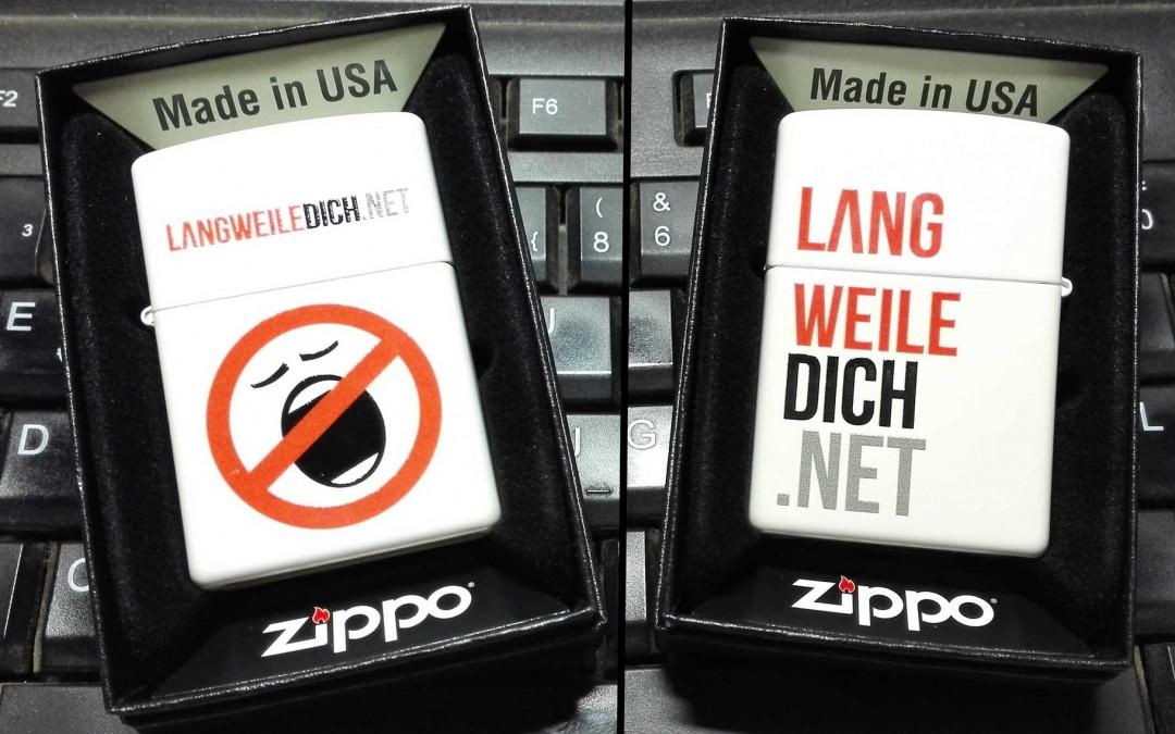 LANGWEILEDICH.NET ZIPPO – Danke!
