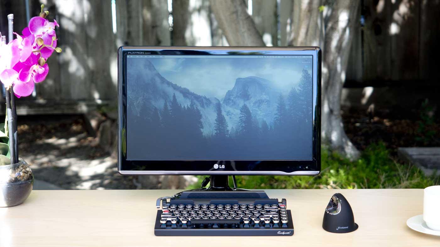 Coffeepotdiary Qwerkywriter retro Tastatur