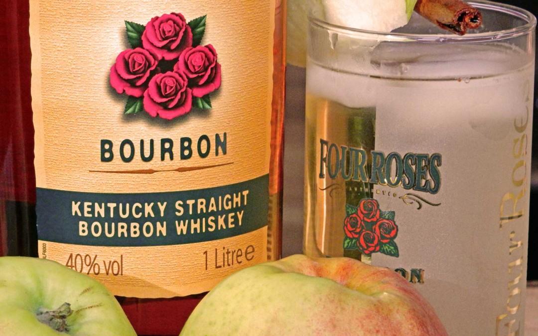 Four Roses Yellow Label Bourbon … mit und ohne Apfel