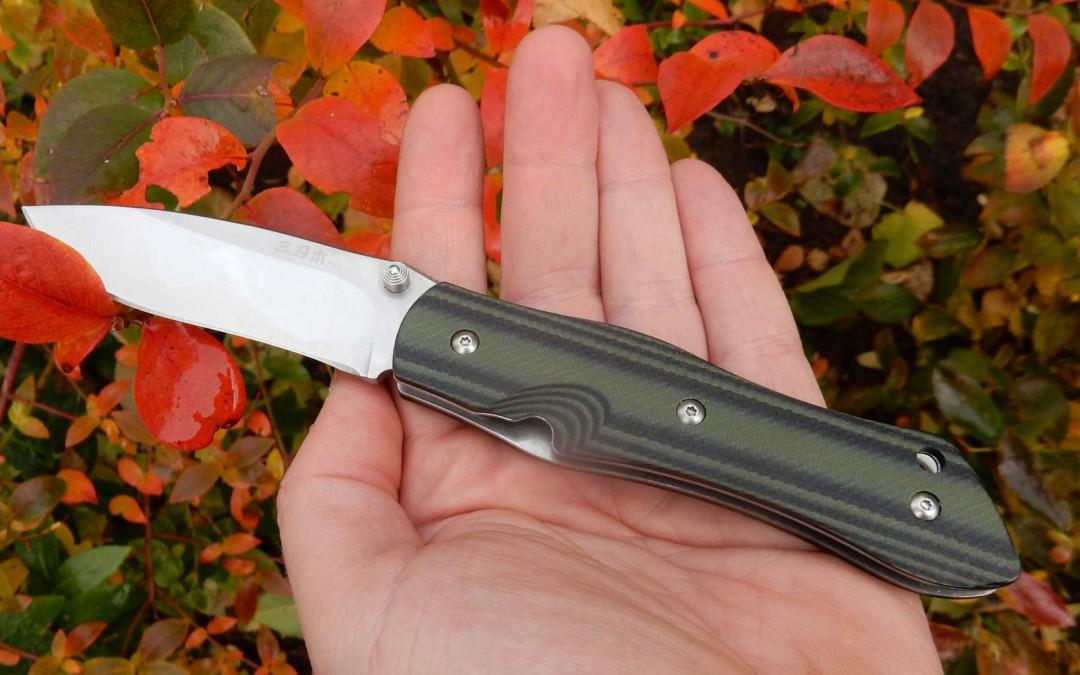 EDC – SANRENMU M1 Slipjoint Messer – für die Hosentasche