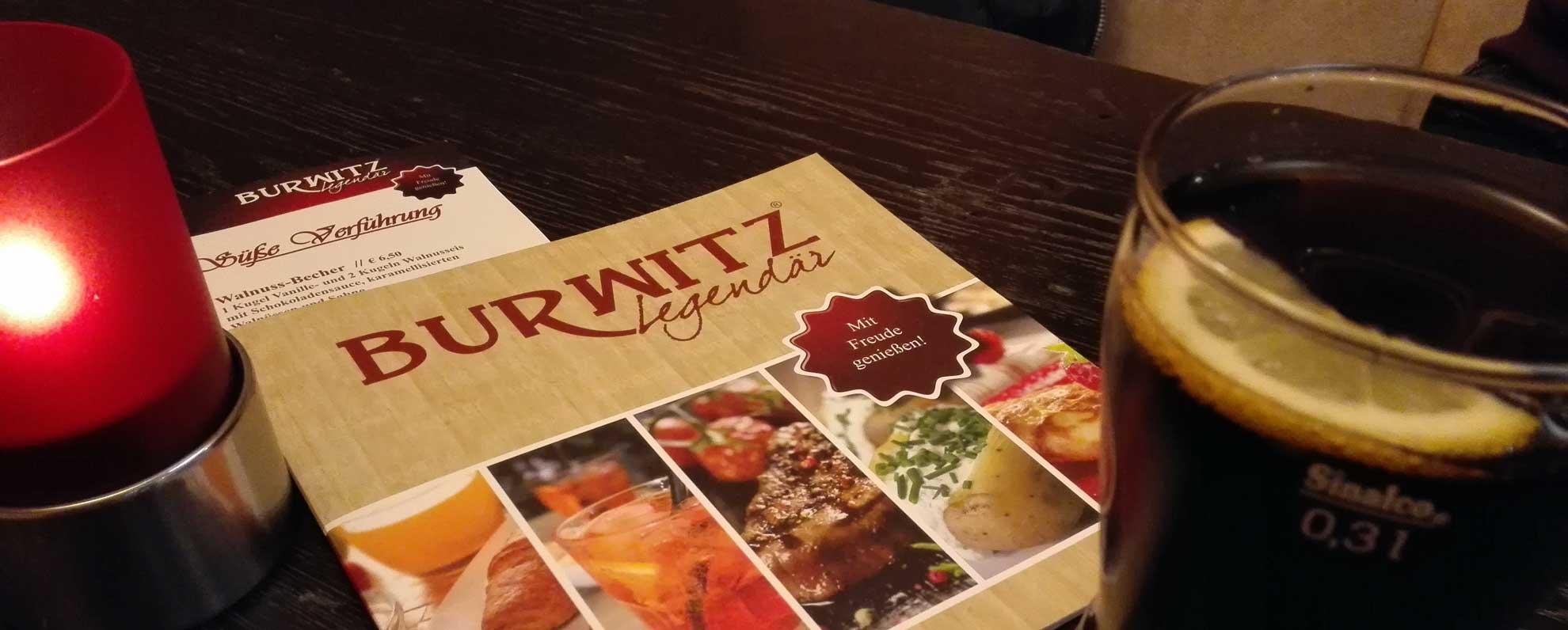 Burwitz legendär Rostock Restaurant Tipp