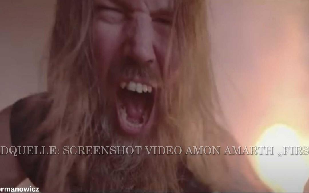 Skandinavischer Schwermetall Dienstagabend Musikvideo Tipp – Amon Amarth – First Kill