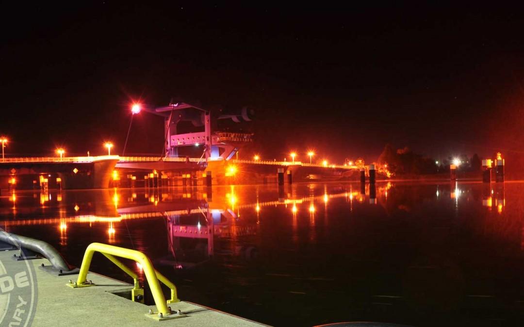 Neue Öffnungszeiten Brücke Wolgast 2016