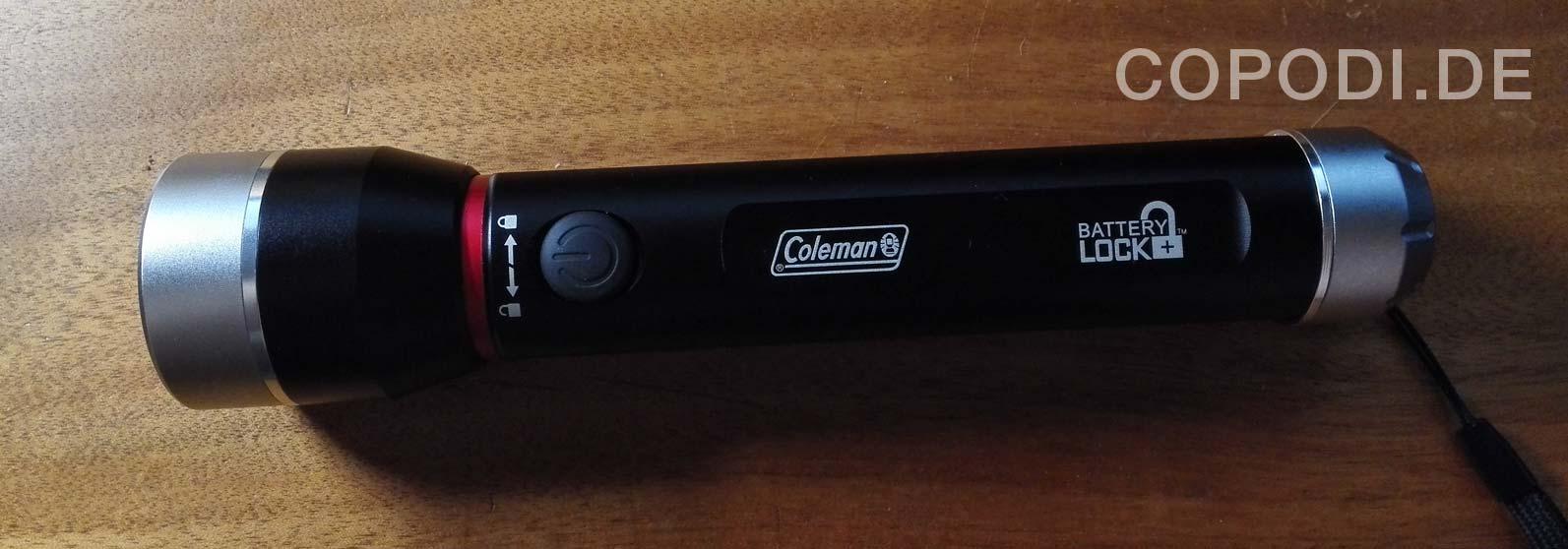 Es werde Licht – Die Coleman Divide 700+ LED Lampe
