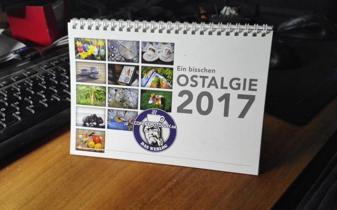 Coffeepotdiary Kalender 2017