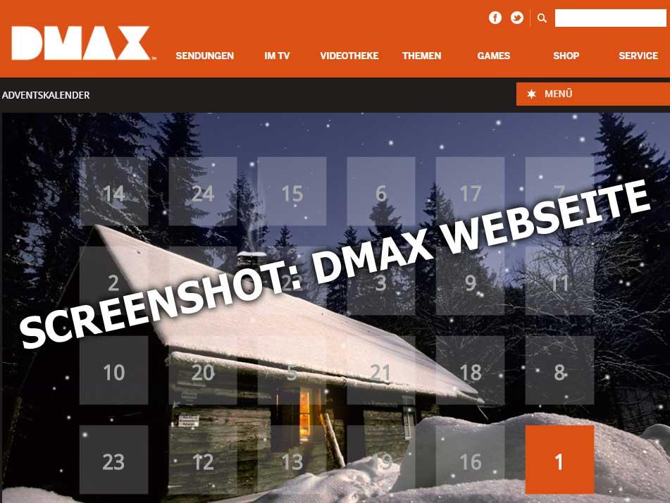 Www.Dmax Adventskalender