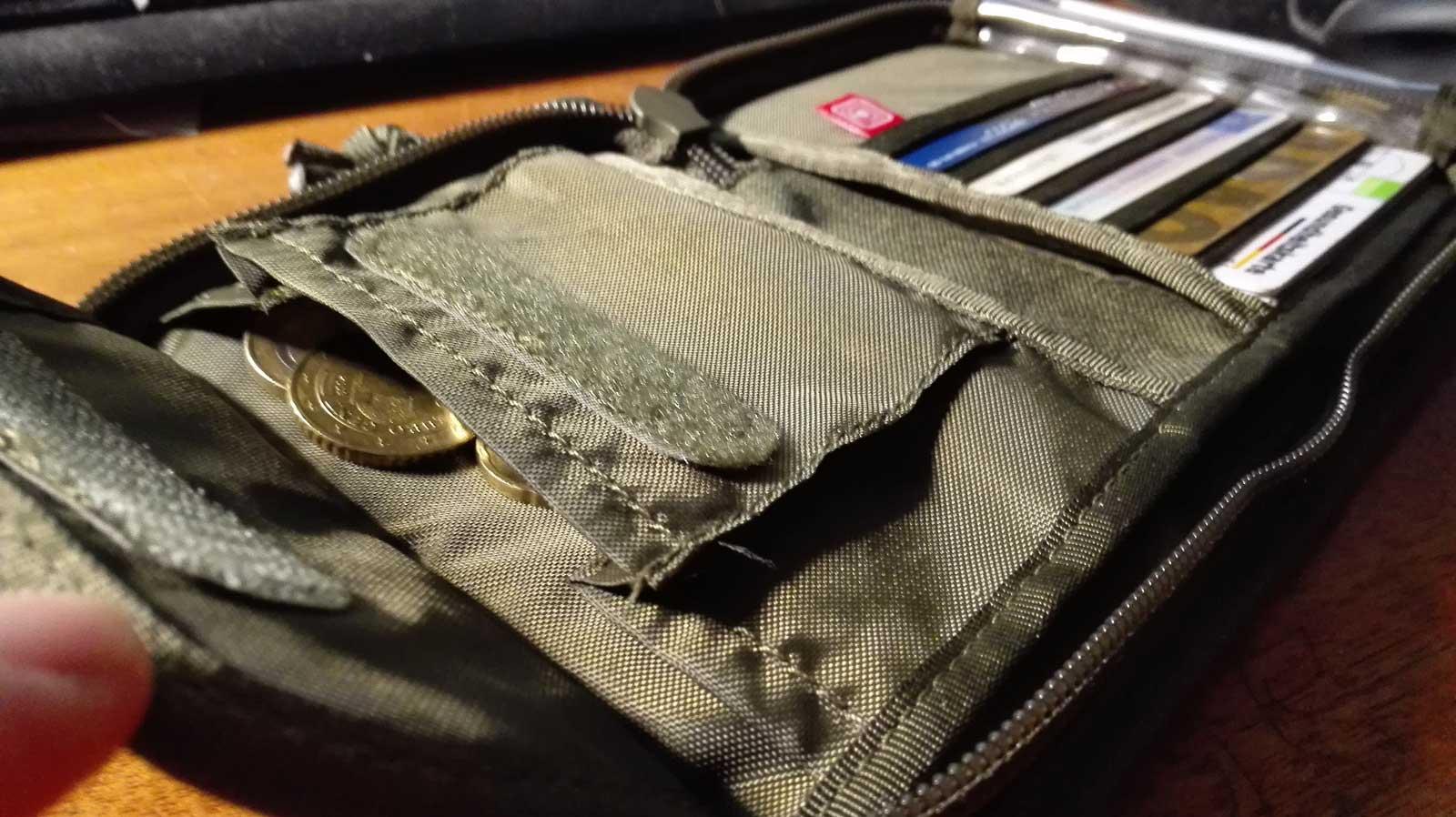 TASMANIAN TIGER Geldbeutel Geldbörse Wallet RFID Block Kleingeldfach