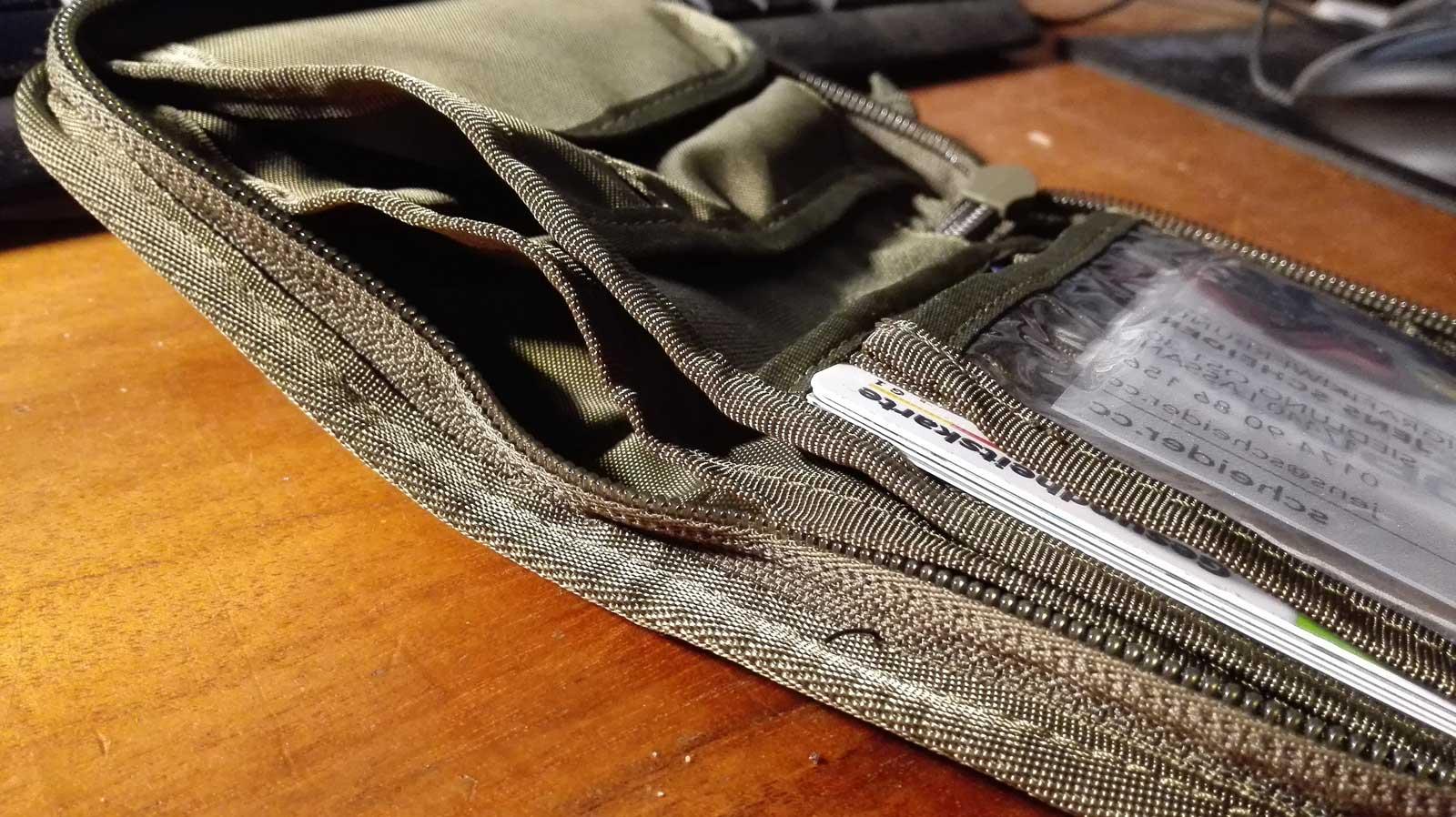 TASMANIAN TIGER Geldbeutel Geldbörse Wallet RFID Block Scheinfach