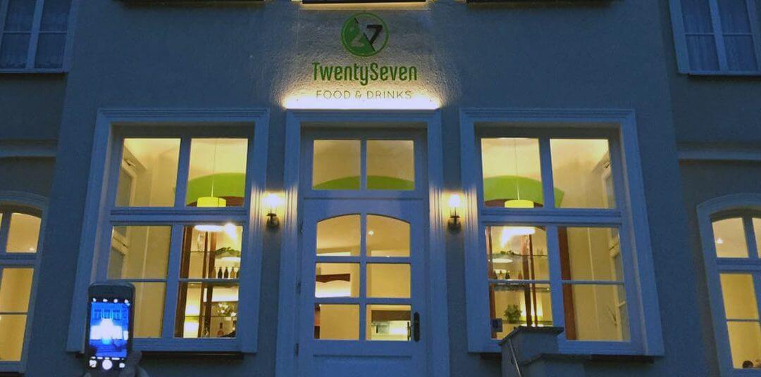Location-Review – neu und eine Empfehlung – das TwentySeven – Restaurant in Heringsdorf auf Usedom