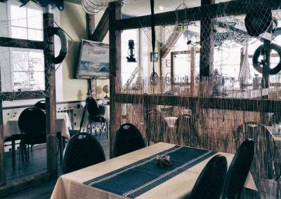 käptn brass restaurant koserow insel usedom gastraum