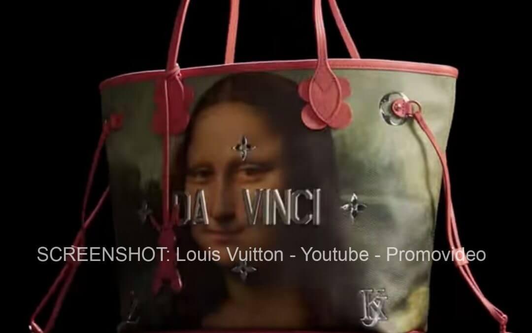 Jeff Koons und Louis Vuitton drucken alte Meister auf Taschen