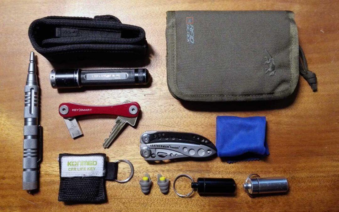 EDC – Every Day Carry – die Taschen voll Zeug – Teil 1