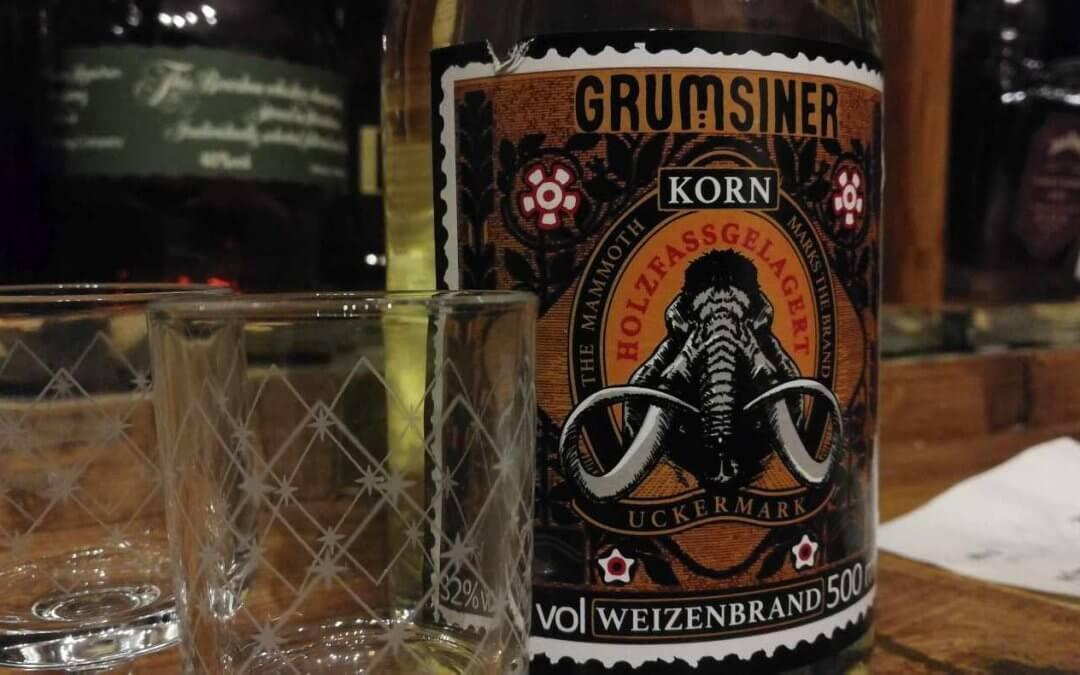 Grumsiner Korn – lecker Spirituose aus der Uckermark