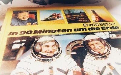 Ein weißer Mercedes und 40 Jahre Raumflug von Sigmund Jähn