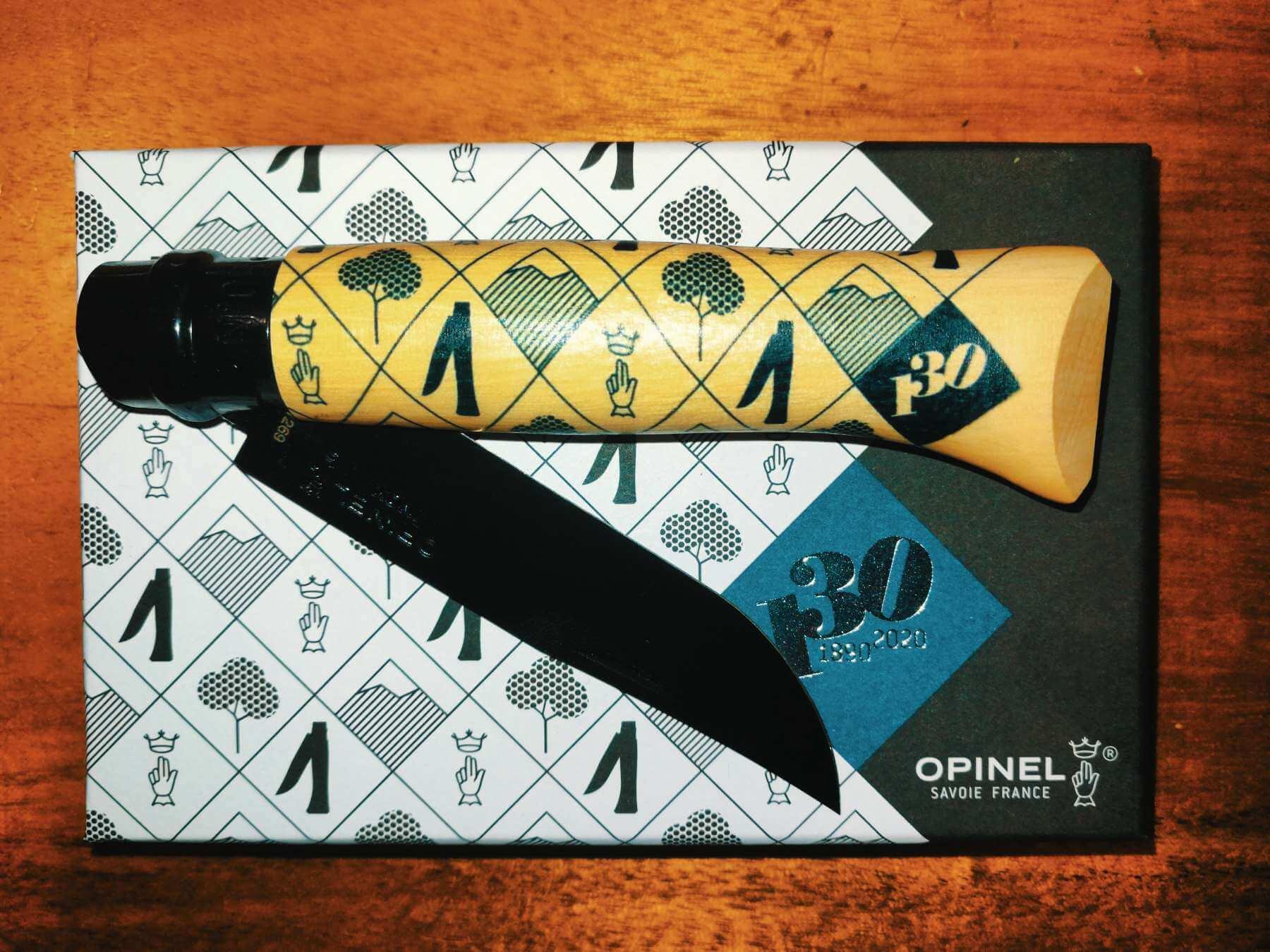 Opinel No.8 130 Jahre Jubiläumsedition - Taschenmesser, Klappmesser, Sammlermesser