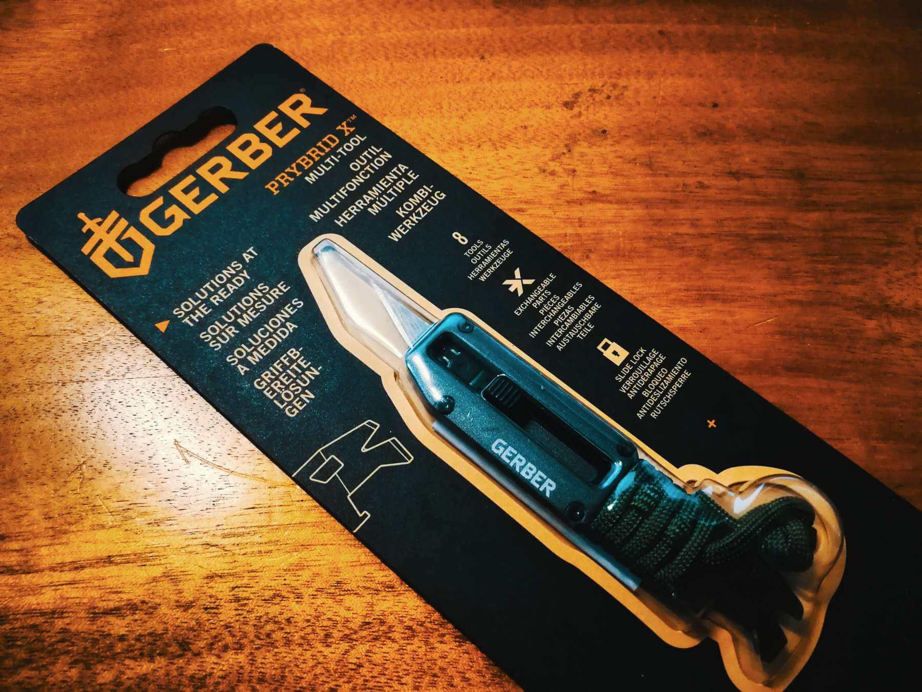 Gerber Prybrid X – Multi-Tool mit Skalpellklinge